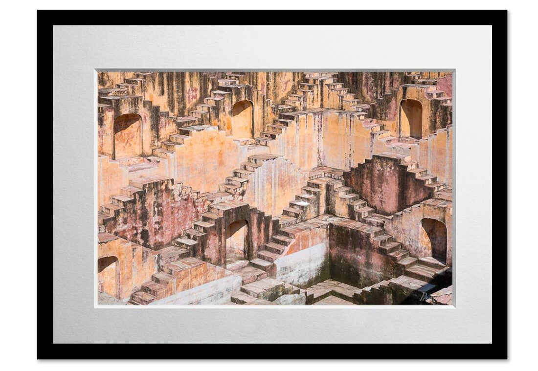 The Step Well (Jaipur, India), 2017, Open Edition, Fine Art Photography C-print