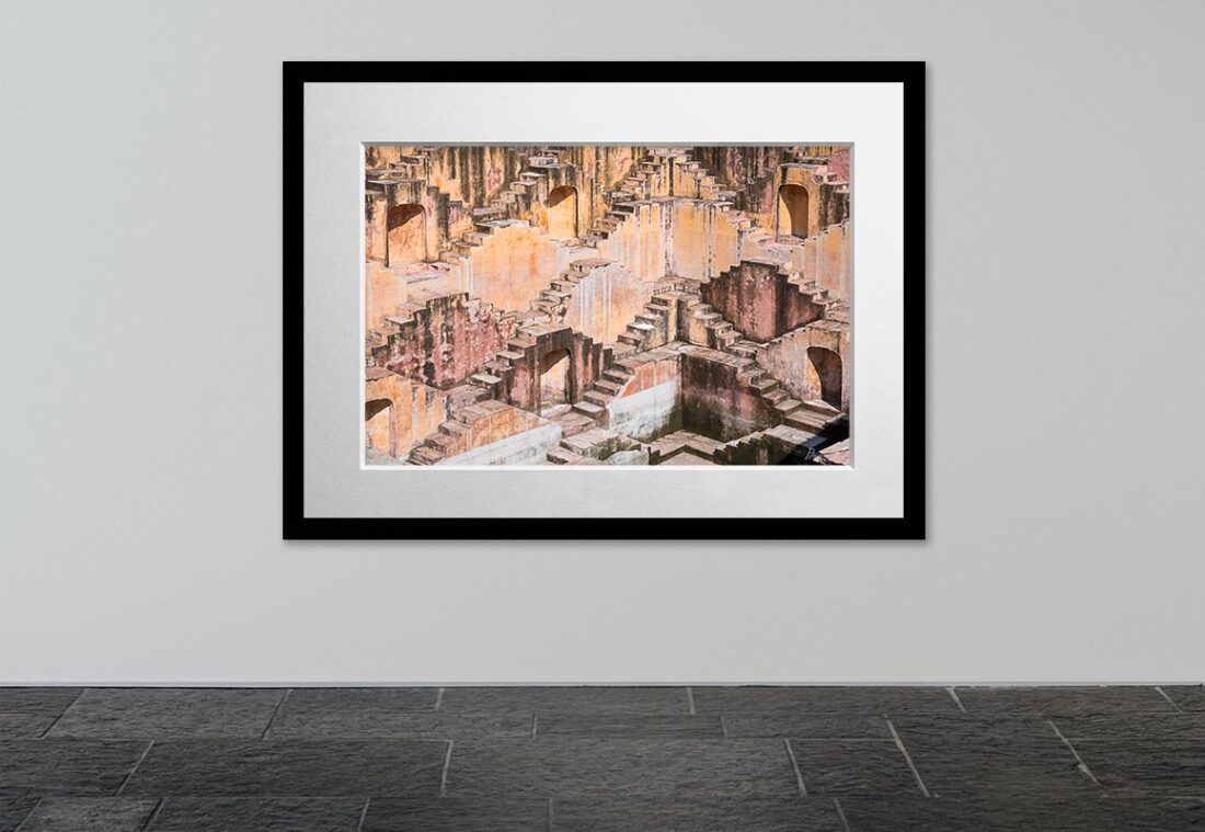 The Step Well (Jaipur, India), 2017, Open Edition, Fine Art Photography C-print by Joseph Pisani.