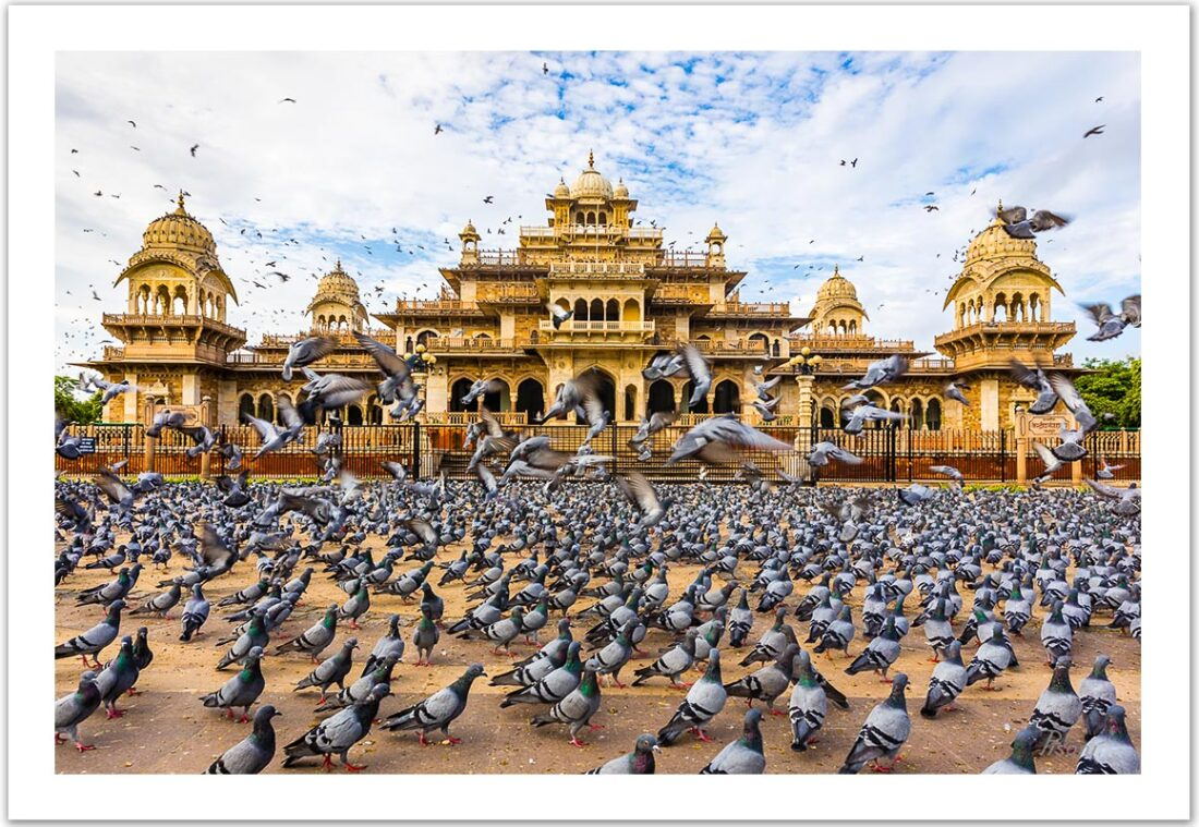 The Pink City of Jaipur (India), 2017, Limited Edition C-print