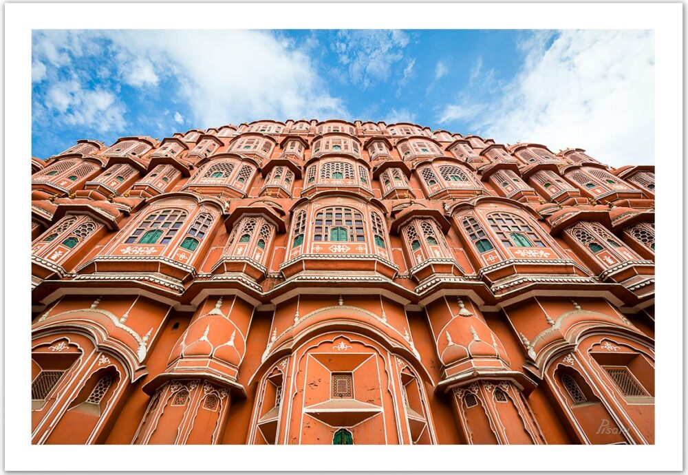 Hawa Mahal (Jaipur, India), 2017, Open Edition C-print