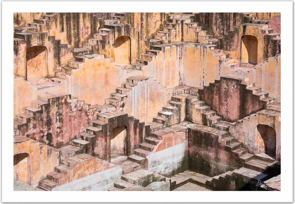 The Step Well (Jaipur, India), 2017, Open Edition