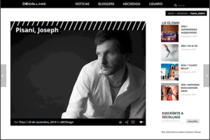 Artist Joseph Pisani Featured on the Spanish design portal