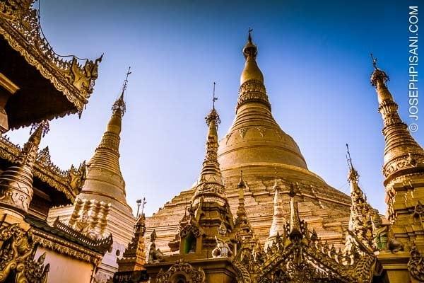 Shwedagon Pagoda, Myanmar