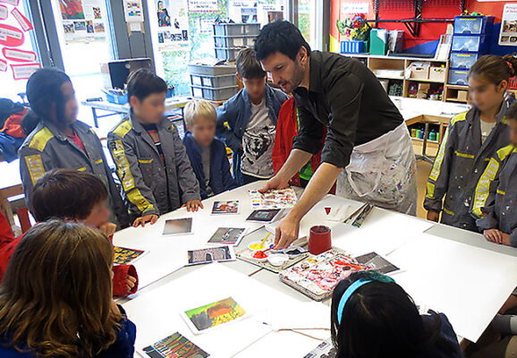 Joseph Pisani: Guest Art Teacher. Q&A with a 6th grade art class from Caracas, Venezuela.