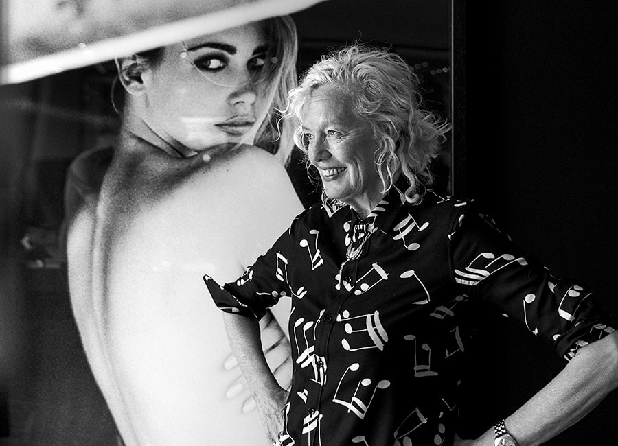 Ellen von Unwerth: Iconic, star Photographer in front of my lens, by Joseph Pisani.